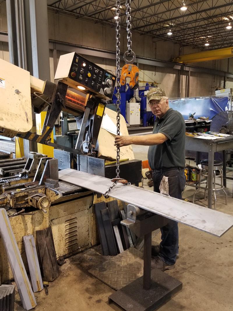 Tincher's Welding employee