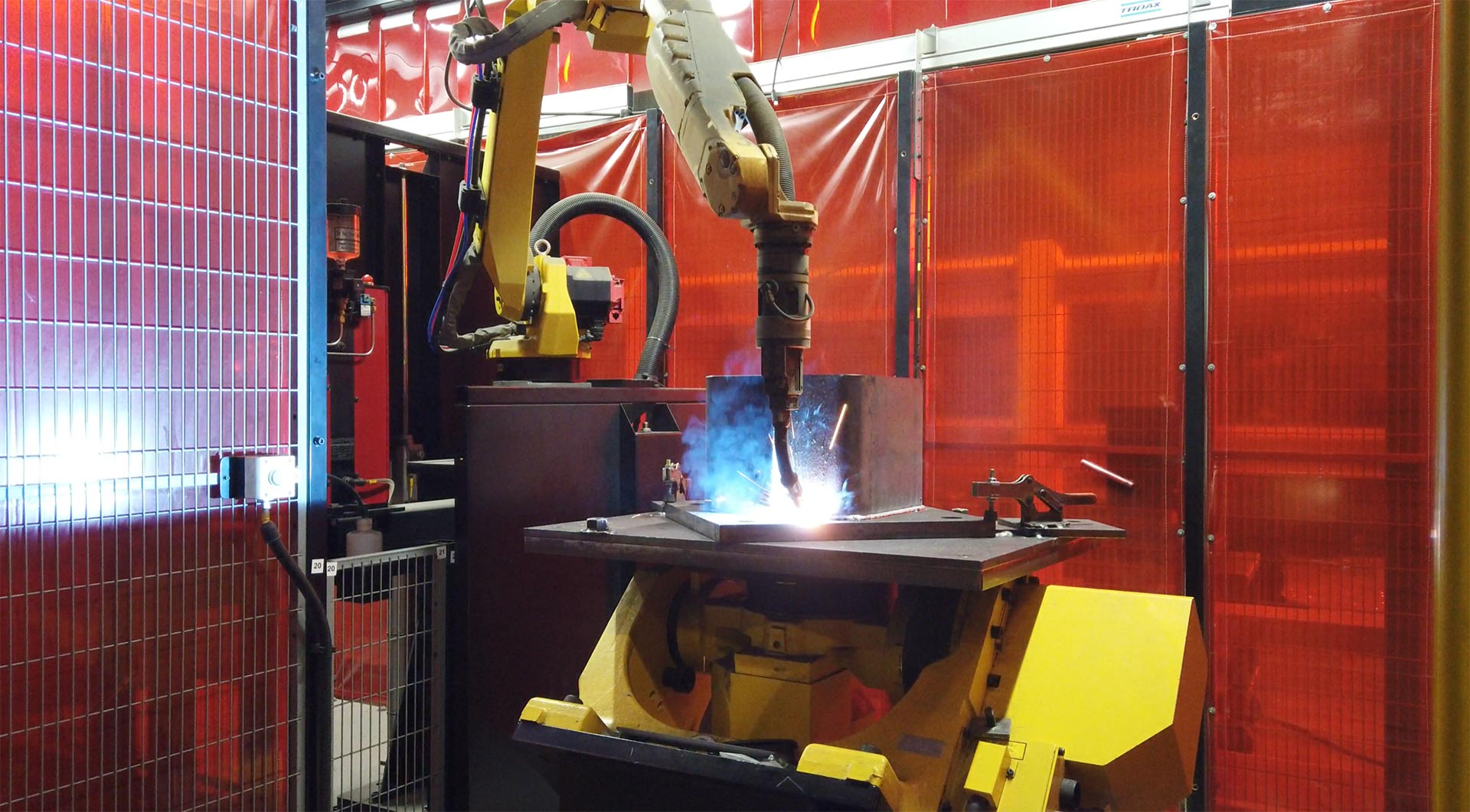 Tincher's robot welder