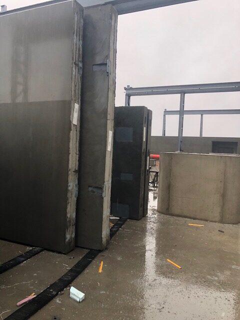 Northeast Precast PC-10's in panels