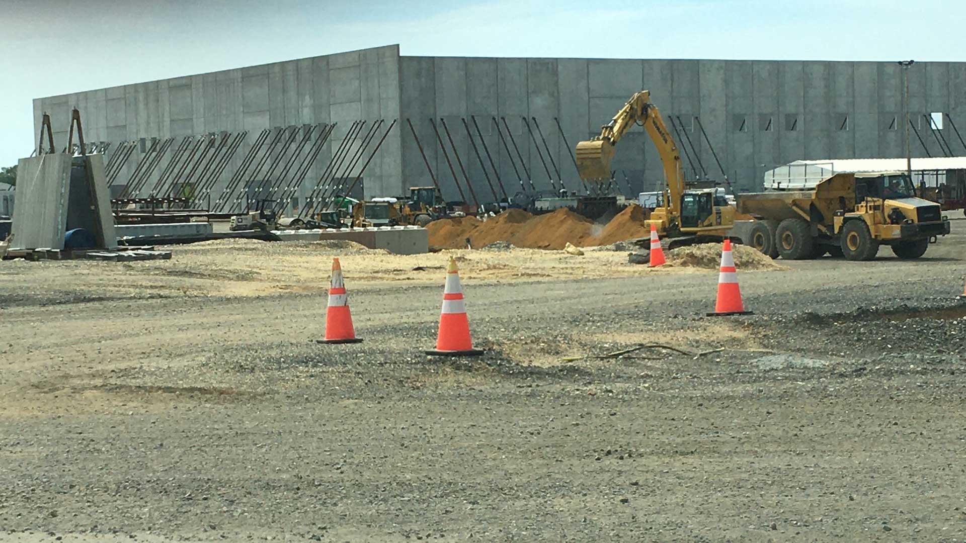 Northeast Precast installation site using PC-10