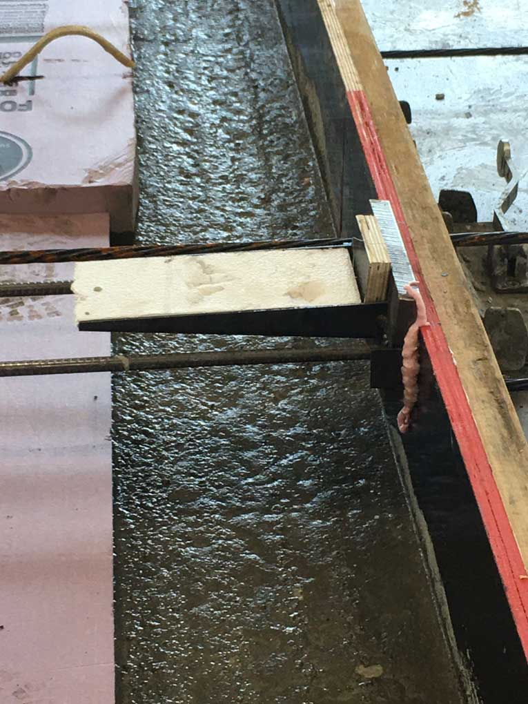 Northeast Precast insulated panel with PC-10